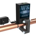 ferrite water conditioner WS-25 on the pipe