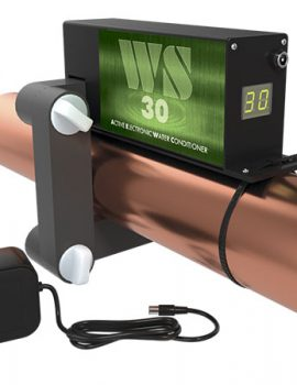 ferrite water conditioner WS-30 on the pipe