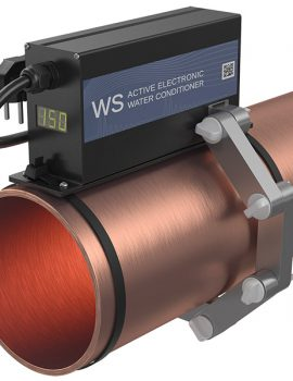 ferrite water conditioner WS-150 on the pipe